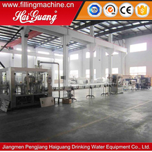 Competitive price water bottle filling packaging production line/pet water bottling plant