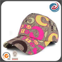 printed new fashion woman hat sports cap outdoor headwear