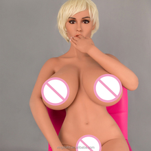 New 170cm big boobs plastic women silicone sex doll European oral head