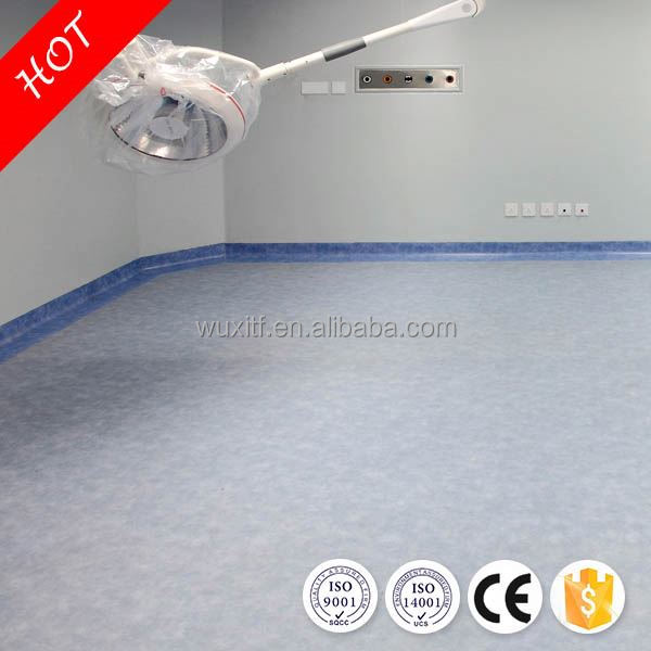 Temperature resistance sound proof vinyl floor for child for hospitals for indoor