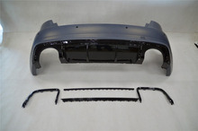 PP Rear bumper For Audi A3 S3 2012-2016 to have RS3 look primer painted unpainted fit for