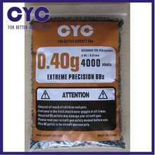 CYC .40 Gram 2000 rounds Precision Grade Airsoft BB, Airsoft BB's, Ammo