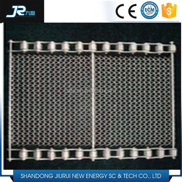 stainless steel chain conveyor belt mesh for food machinery