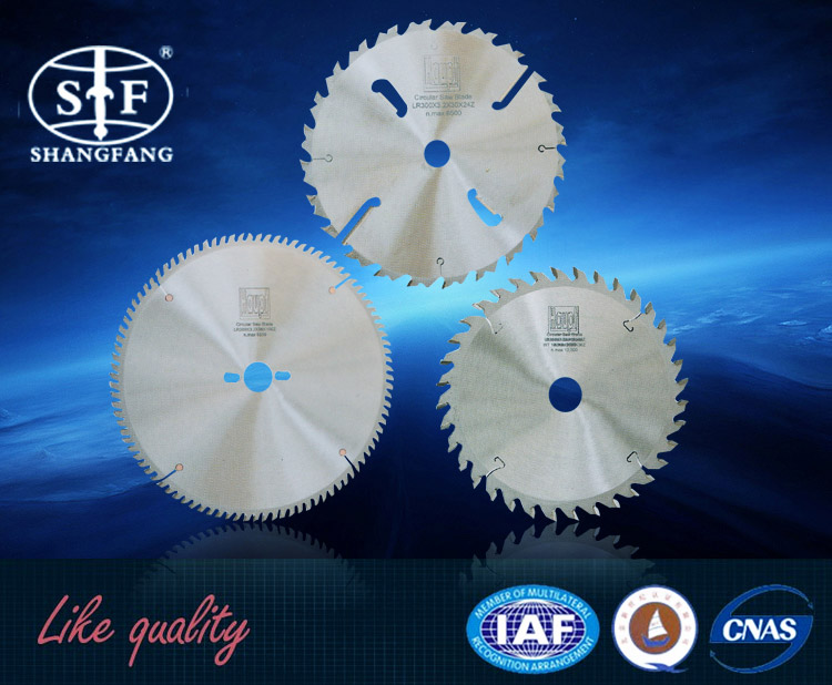 Trade Assurance TCT circular saw blade for cutting Aluminum/Metal