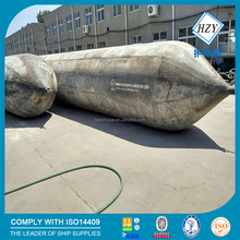 Ship launching marine airbag with ISO14409