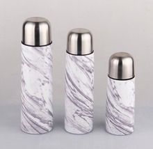 OEM pink color painting stainless steel material baby vacuum flask