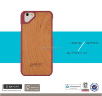 Real Wooden Bamboo Case, High Quality for iPhone 6 6s Wood Protector Newest design Case