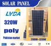 320w poly solar panel best price for hot selling in pakistan market selling