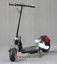 Real Product Foldable Tank Motor Scooter Adult Gas Scooter