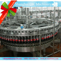 OK058 Beverage Soft Drinks filling machine canned