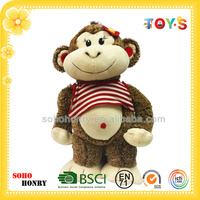 Cute Monkey Toy Giggle Cheap Monkey Toys for Girl