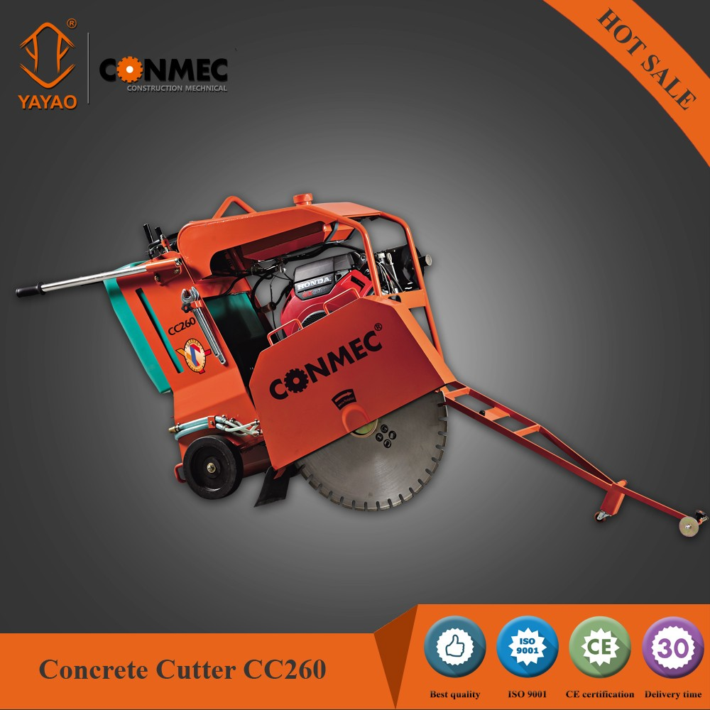 CONMEC Concrete Cutting Machine Road Cutter Floor Saw