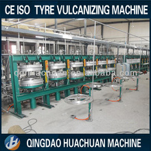 Tire manufacturing machines/ tyre recycle vulcanizer / hydraulic tyre vulcanizing China supplier rfq