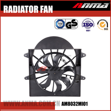 Auto cooling system radiator fan for mitsubishi lancer