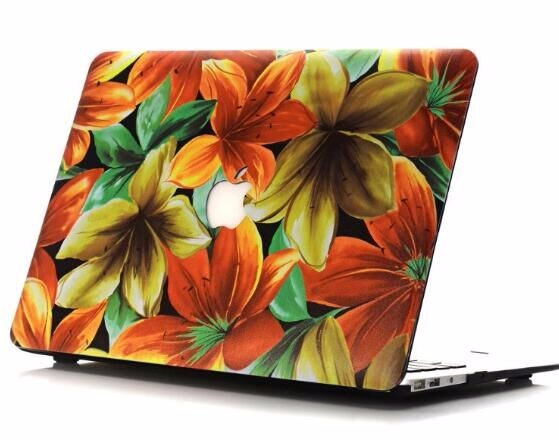 OEM factory high quality matte hard plastic case for apple macbook pro