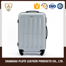 Promotion fashion and high quality abs travel suitcase luggage trolley bags