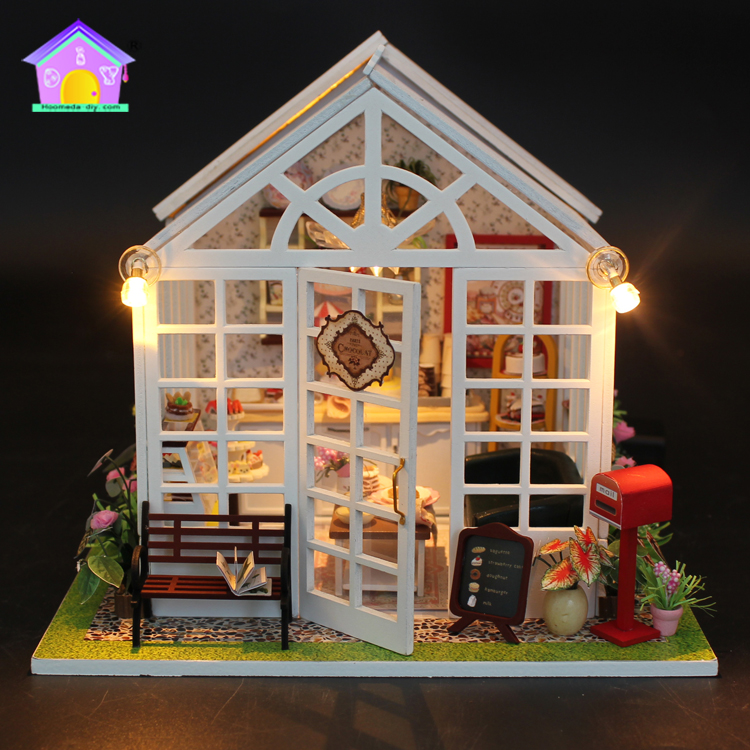 DIY real good toys simple wooden miniatures and dollhouse king win cake mini