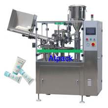 Atpack high-accuracy Imported parts aluminum tube filling and sealing machine with CE GMP