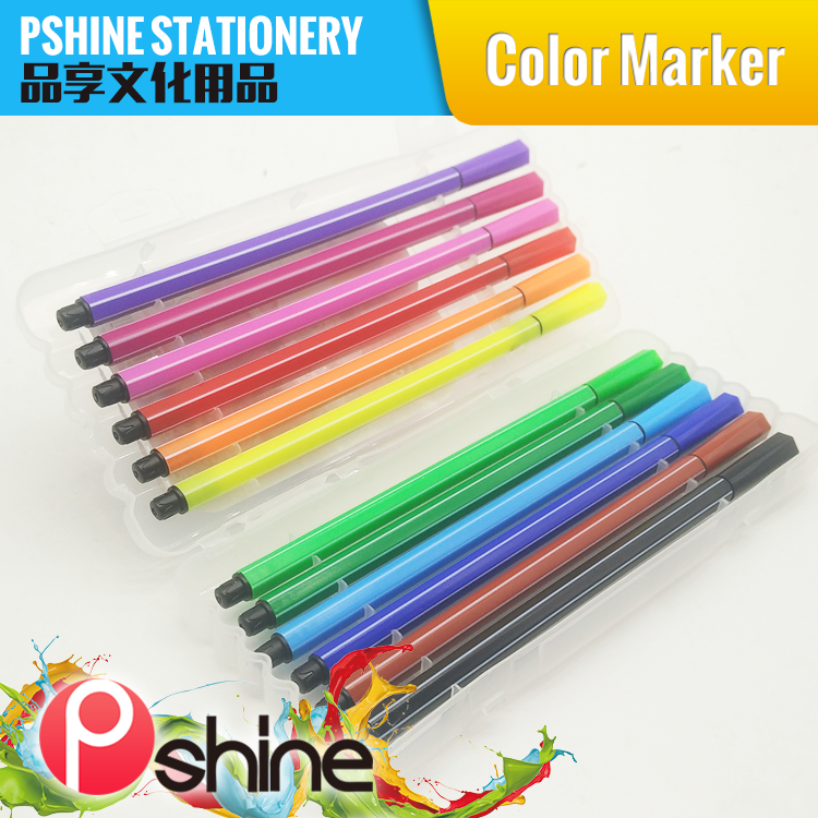 Top Quality Non-toxic fibre tip water color art marker