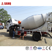 Concrete Mixer Truck Dimensions For Sale