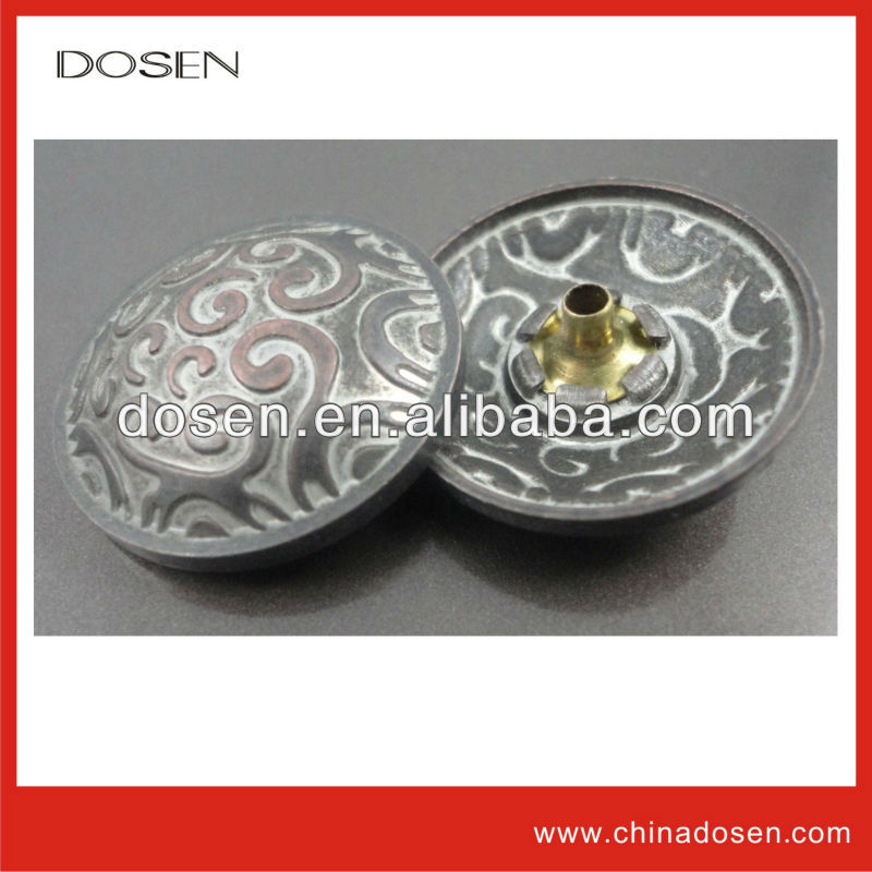 wholesale 20mm customized buttons,nickel free clothing snaps