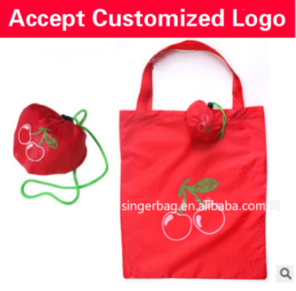 Multifunctional reusable shopping bag heart shape for wholesales