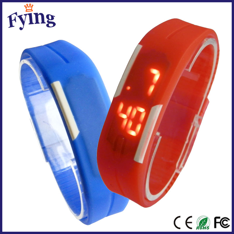 hot selling cheap silicone wrist vogue watch promotional products jam tangan