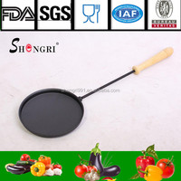 Shengri pre-seasoned grill pan for chiminea use