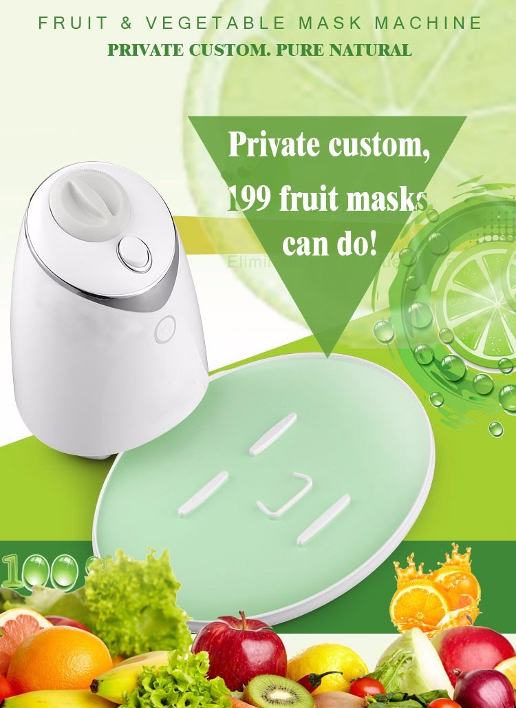 New Design Hot Selling DIY Mask Making Tool White Color Pure Natural Masking Making Machine