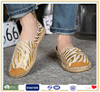 China wholesale customer plus size women elegant espadrilles shoes