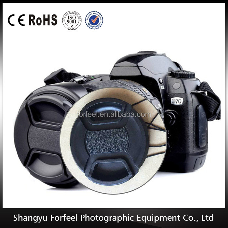Wholesale hot sell Professional with word camera lens cap goods from china