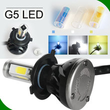 Auto parts high lumen new design wireless LED Headlights 12v Car Head Lights H1 H3 H4 H7 H8 H9 H11 H13 H15 HB3 HB4 9005 9006