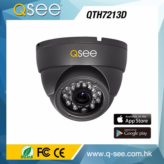 Hot Selling Double Glass Design Dome Outdoor/Indoor Waterproof 720p Resolution AHD Dome Home CCTV Camera Security System