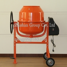 CM260 (CM50-CM800) Portable Electric Gasoline Diesel Food Pharmacy Chemical Feed Stainless Steel Concrete Mixer 260L