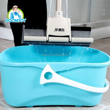 High water and hair absorption skillful use PVA mop bucket with wheels, high power water pump