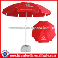 China leading Advertising parasol promotion Beach Umbrella factory