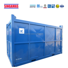 High quality new open top logging metal container