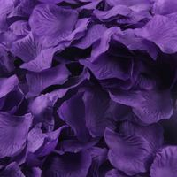 Beautiful artificial rose petals