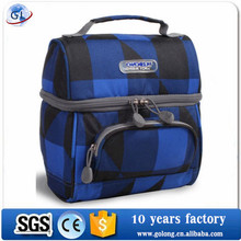 Cold material Insulated lunch bags for adults New Stylish Folding 600D Polyester lunch cooler bags for kids