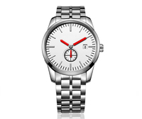 Stainless steel mens watch,Japan movt quartz watch price,Mens watches top brand
