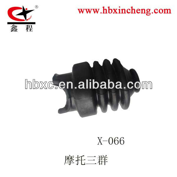 rubber part for clutch cable or brake cable rubber boot 3 steps