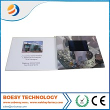 Digital video greeting card/Advertising lcd video card in printing