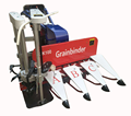 Widely Used For Corn/wheat/rice/sesame/grass Mini Reaper Binder Harvester Machine