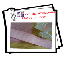 Excellent quality pink braided strong elastic strap