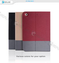 for ipad mini 4 case cover,New products double colour style magnetic case with stand