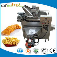Stainless steel industrial potato chips/ kfc chicken frying machine