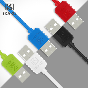 KAKU cheap colorful micro usb charging cable for 10' iphone 6 5