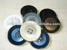 good quality 4 holes polyester make resin button
