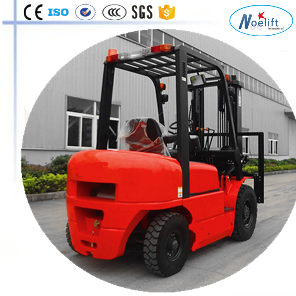 wood working machinery China Brand New Diesel Forklift 2000 kgs, 4.5 mt Container Triple Mast and side shifter