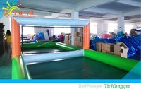 inflatable water volleyball court//Amusement Sea Water Sport Games